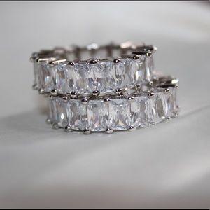 Elsa Cubic Zirconia sterling silver ring